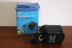 100 Watt Desctop Voltage Converter 230V AC to 110V AC - US Plug