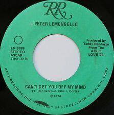 NORTHERN SOUL 45 PETER LEMONGELLO ON RR HEAR - IN D VERSAND KOSTENLOS AB 5 45S!