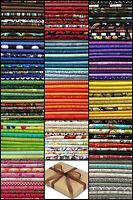 """10 FQ Fabric Bundle CHARM PACK - Packs - 100% COTTON Quilting Fabric 18""""x22"""""""