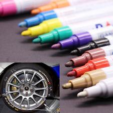 12Pcs Paint Markers Tyre Fine Oil Based Art Pen For Rubber Rocks Ceramic Glass