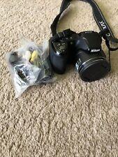 Nikon COOLPIX L810 16.1MP Black Digital Camera - Tested and working