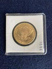 1901 $10 Ten Dollar Liberty Head Eagle Coin Gold Bullion