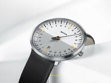 Botta UNO 24 NEO WHITE GREY DESIGNER WATCH 24 Hour Display Hand Watch NEW