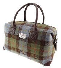 Authentic Harris Tweed Overnight Bag Holdall Gunn Tartan LB1006 COL 15