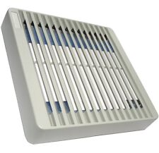 Rejilla protección gris de ventilador caja ordenador 120x120mm con filtro polvo