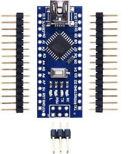 4 Cartes Electronique MicroContrôleur Nano ATmega328P DIY Compatible Arduino IDE