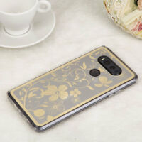 For LG V20 Phone Slim Thin Clear Rubber Silicone Soft Gel Case Cover Transparent