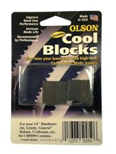 """Olson Genuine Cool Blocks CB50050 fits most 14"""" Band Saws Jet, Craftsman & Other"""