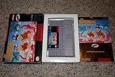 Flintstones: Treasure of Sierra Madrock (Super Nintendo SNES) Complete GOOD CC