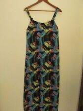 Volcom Dress - Girl Crush Printed Maxi Size M