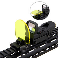Sight Scope Lens Protector Cover Shield Panel 20mm Rail Mount For