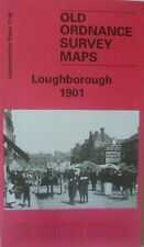 Old Ordnance Survey Map Loughborough  Leicestershire 1901 Sheet 17.08  New