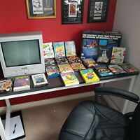 Very Rare Nintendo Nes Console Boxed Great Conditon With Rare Boxed Games...