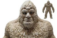 EPIC BIGFOOT statue - Sasquatch figure Yeti figurine NEW - Dirty White Blue Eyed