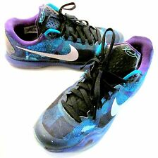 Nike Kobe X 705317-305 Emerald Glow/Court Purple Overcome Men's Size 10.5