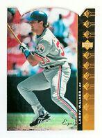 Larry Walker #86 (1994 Upper Deck SP) Die-Cut Baseball Card, Montreal Expos, HOF