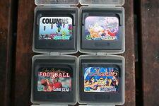 4x Sega Game Gear juegos columns Football Aladdin ariel