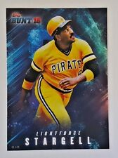 "2016 TOPPS BUNT WILLIE STARGELL ""LIGHTFORCE"" 5X7 JUMBO ART CARD #/49 PIRATES"