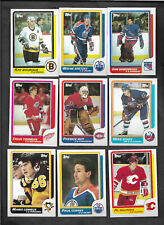 1986-87 TOPPS HOCKEY SET OF 198 CARDS FROM VENDING -NO WAX STAINS NR MINT ROY RC