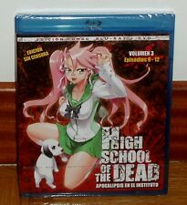 HIGH SCHOOL OF THE DEAD-APOCALIPSIS EN EL INSTITUTO-COMBO BLURAY+DVD-MANGA-COMIC