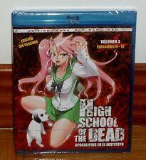 HIGH SCHOOL OF THE DEAD-APOCALIPSIS EN EL INSTITUTO-COMBO BLURAY+DVD-MANGA-COMIC