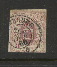 Luxembourg 10 used thin nice cancel catalog $300.00 Kel0420