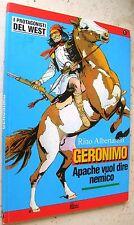 I PROTAGONISTI DEL WEST N° 1 GERONIMO - ED. HOBBY WORK - OTTIMO