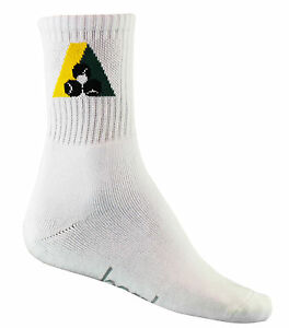 Lawn Bowls Sock Bamboo Fibre Long Ankle With BA Logo - Bowls Australia Approved