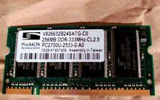 ProMos 256mb DDR 333MHz CL2.5 PC2700U-2533-0-A0