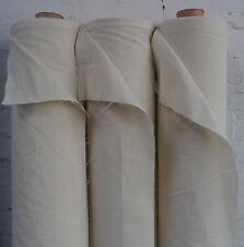 "100% Natural Cotton Calico Fabric Medium Weight 145gsm 63"" Handcraft 1M Rrp£8.99"