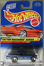 Hot Wheels 1:64 Scale 1997 Tattoo Machines Series '57 T-BIRD