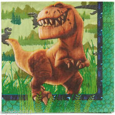 THE GOOD DINOSAUR LUNCH NAPKINS (16) ~ Birthday Party Supplies Serviettes Disney