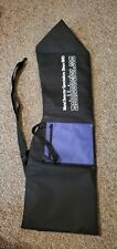 Metal Detector Carry Case / Black with Zipper and Front Pocket / Slightly Used