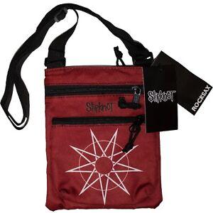 Slipknot - W.A.N.Y.K. Red Star Official Licensed Rock Sax Body Bag