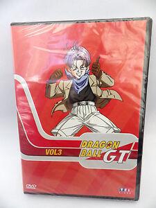 DVD Manga Dragon Ball Gt Volume 3 TF1 Ab Prod VF Dbz DVD New Sub Cello