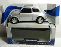 URBAN RIDER - DIECAST - FIAT 500 CAR - SILVER - 64781 - BOXED