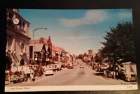 REAL PICTURE POSTCARD  - THE HIGH STREET MOLD 1970,s.