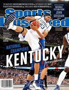 Kentucky Wildcats Sports Illustrated Anthony Davis No Label Newsstand 2012