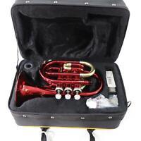 Selmer Model PT711R Prelude Pocket Trumpet in Red BRAND NEW