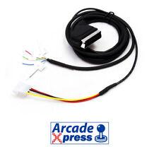 Cable RGB to Scart 15khz Euroconector Jamma Arcade VGA Mame GroovyMame
