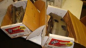 Cambro 5049H 5050H Front Left & RIGHT Rebuilt Brake CaliperS With BRACKETS
