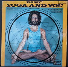 BASIC YOGA AND YOU - MARK BECKER VOCAL INSTRUCTIONS & INDIAN MUSIC BOOKLET IN OZ