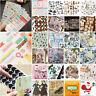 Cartoon Paper Stickers Washi Kawaii Stationery Deco DIY Scrapbooking Sticker Set
