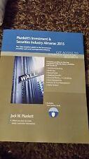 NEW Plunkett's Investment & Securities Industry Almanac 2015 by Jack W. Plunkett
