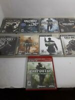 Call Of Duty and Medal of Honor PlayStation 3 PS3 Game Lot of 9 Games Tested
