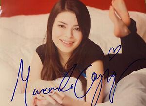 "Miranda Cosgrove Signed  8"" x 10"" Photograph"