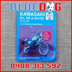 Kawasaki KC100 KE100 KH100 1975-99 Haynes Workshop Manual 971371