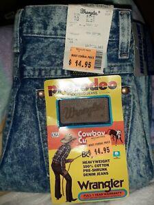 Wrangler Pro Rodeo 23x25 13MWBHD 10 Slim Original Cowboy Cut