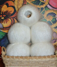 Natural goat fluff fuzzy Cashmere Mohair fluff Fur DOWN skein without dyes