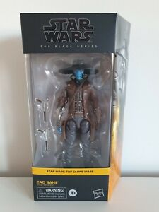"""STAR WARS / BLACK SERIES / THE CLONE WARS / CAD BANE 6"""" Action Figure"""